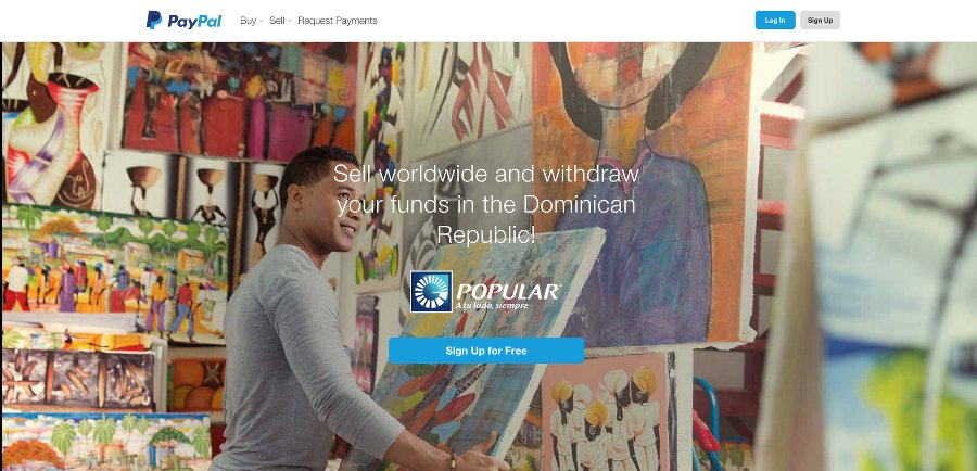 Agreement between PayPal and Dominican Banco Popular